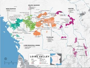 Wine Map of Loire Valley by Wine Folly