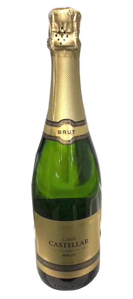 Grapes: 90% Macabeo, 10% Chardonnay. Tasting notes: Easy flavors of apples and melons. Dry and bubbly. A great introduction to Cava.