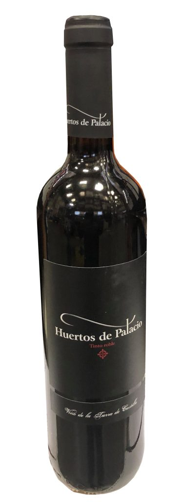 Grape: 100% Tempranillo. Tasting notes: An entry level, young tempranillo with black fruits and a little bit of oak. Easy to drink.