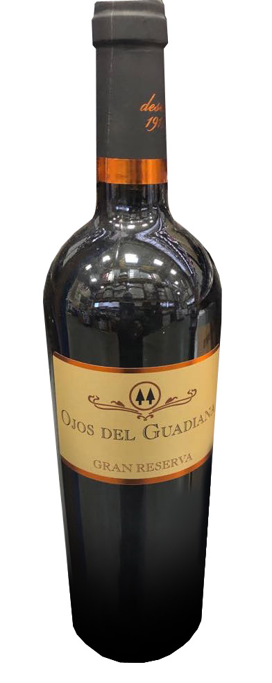 Grape: 100% Tempranillo. Tasting notes: 100-year-old vines. Sustainable. Black fruits. This wine has spent 36 months in French Oak barrels and 8 years in a bottle.