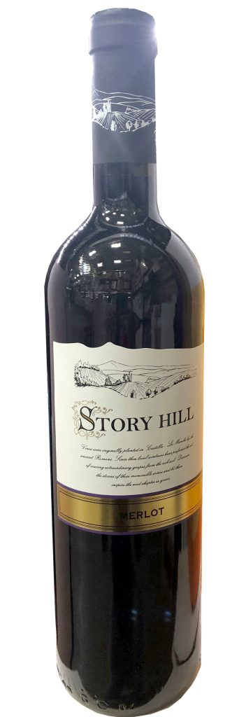 Story Hill Merlot wine
