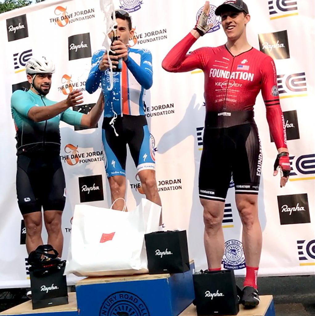 """José Moura Selections is a proud sponsor of Dave Jordan Racing. """"As a sub-team of the Century Road Club Association, Dave Jordan Racing is a part of a century of bike racing in New York City."""""""
